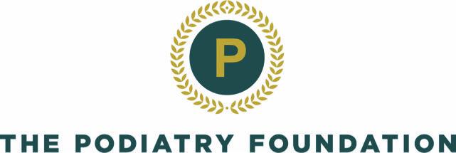 The Podiatry Foundation Logo Cmyk