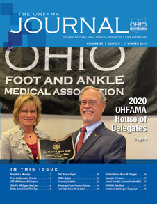 Ohfama Newsletter.Winter.2021 Cover